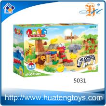 2016 Китай игрушки животные домашние дети DIY кирпич строительные блоки игрушки