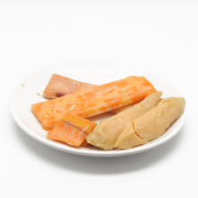 All Natural Premium Retorted Snack with Chicken and Salmon Dog Treats Pet Treats