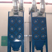 Efisiensi Tinggi Solenoid Industri Dust Collector Machine