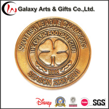 Metal Customized and Gold Type Rare Souvenir Medal Coins as Promotion Gfits