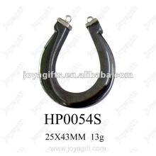 Hematite Horse shoe Pendants