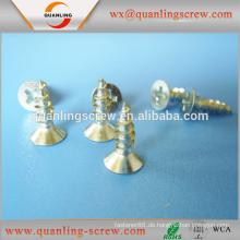China Großhandel hochwertige Kreuz Aussparung Csk Kopf Spanplatten Schraube