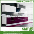 purple KD modular customized kitchen cabinets