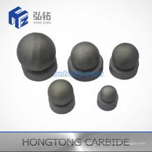 Bille et siège en carbure de tungstène non mis à la terre