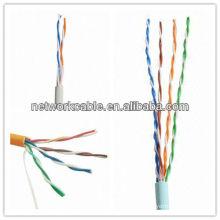 4 пары CCA CAT5 UTP LAN-кабель с CE, RoHS, Fluke Marks, 60 или 75 градусами по Цельсию Номинальная температура