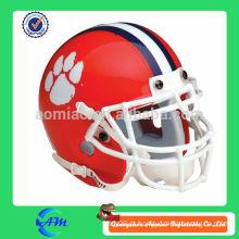 Capacete vermelho capacete de futebol inflável para publicidade