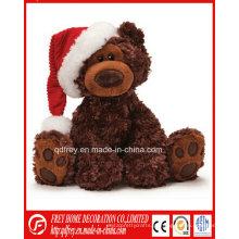 Brinquedo de presente de Natal de venda quente de urso de pelúcia