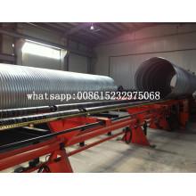 Máquina espiral de tubos corrugados