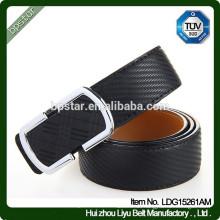 Mann Formal Wide Black Echtleder Gürtel Für Business / cintos de couro cinto de couro para homens