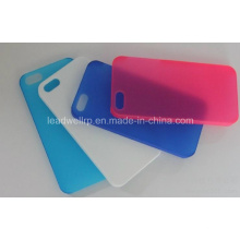 Semi Transparent Mobile Phone Cases Prototype in Silicone Mold