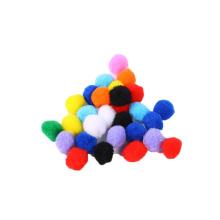 Factory sale colorful 1cm-3cm in diameter diy craft PomPom For kids