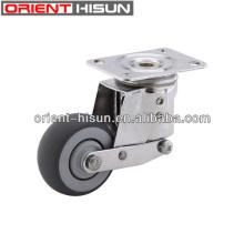 높이 조절 가능한 3 인치 캐스터 바퀴 및 캐스터 바퀴 제조