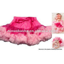 NW-232 Elegant sash tulle tutu dress