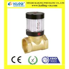 Válvula de pistón neumática, válvula de solenoide líquido, válvula de aire 24vsolenoid
