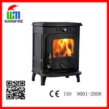 NO. WM701A WarmFire estufa de leña de hierro fundido independiente