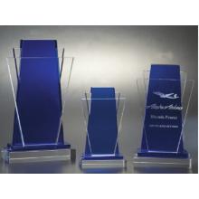 O novo cristal troféu de vidro lembranças troféus medalhas