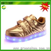 Новых детских детская обувь с подсветкой для 2017 СС