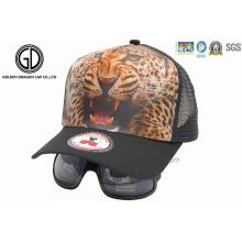 Mode Kinder Baby Baseball Trucker Cap mit Transfer Print / Sonnenbrille