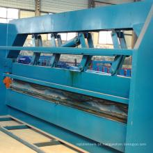 Corte hidráulico do painel do telhado da placa de chapa metálica da cor de 2.5-6m e máquina de dobra