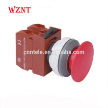 30mm grande tête convexe type basse tension 12v interrupteur à bouton-poussoir autobloquant