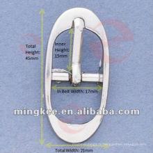 Boucle de ceinture / sac en argent (M16-240A)