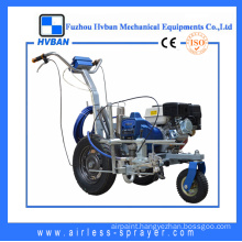 Powerful Petrol Street Lining Machine with Pistom Pump