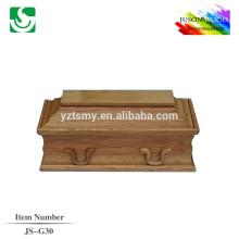 caixão infantil madeira sólida