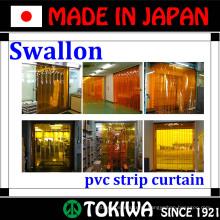 Swallon Co., Ltd. cortina com funções de proteção a prova de som, pesticidas e frio. Feito no Japão (tira de vedação da porta da parede de cortina)