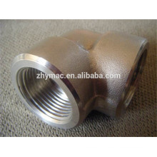 ASTM A234 WPB forged equal tee sch40