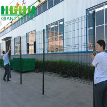 PVC+Triangle+Bend+3D+Welded+Wire+Mesh+Fence
