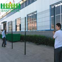 Cerca soldada dobrada galvanizada revestida PVC do ISO 9001