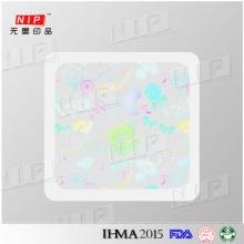 Pegatinas de holograma aceptable precio con alta calidad