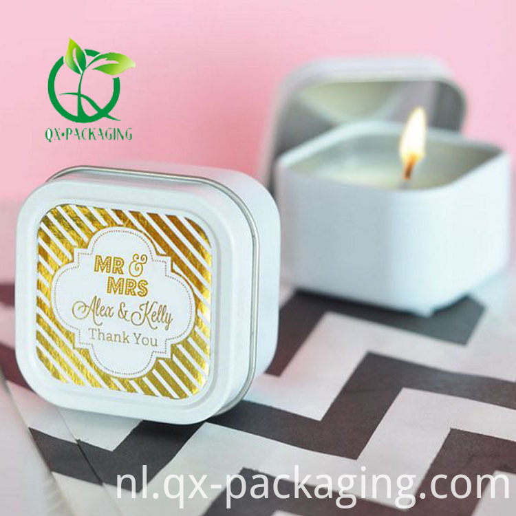 Travel candle tins wholesale
