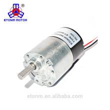 Motor pequeno sem escova da caixa de engrenagens para o dispositivo eletrônico do agregado familiar