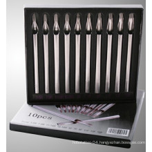 Long Stainless Steel Tattoo Tip Kits