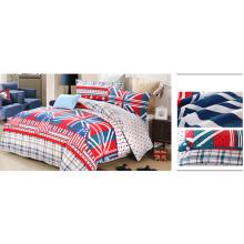 Atacado Qualidade Reativa Impressão Comforter Set F1733