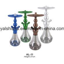 Nova Venda Quente Chicha EL Badia Alumínio Celeste Hookah Shisha