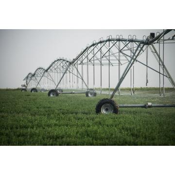 span truss center pivot irrigation system