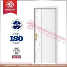 Diseño de la puerta del panel de la madera de la venta superior