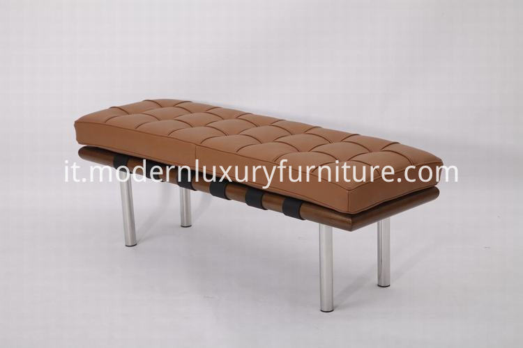 leather bed bench