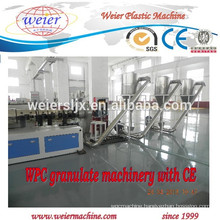 Wood powder making machine for WPC granulating line