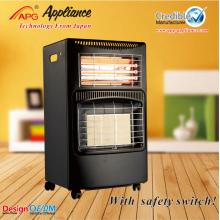 China for Portable Gas Heater Gas Electric Heater With ODS anti-tilt switch supply to Burkina Faso Exporter