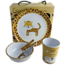 5PCS Melamine Kids Meal Set