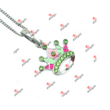 Collier de bijoux avec pendentifs colorés de haute qualité et de haute qualité (LKD60128)
