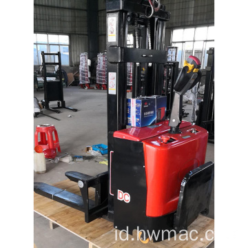 Automatic walking lifting forklift listrik penuh