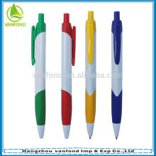 2015 top venda alta qualidade preço barato logotipo promocional caneta de plástico 1000