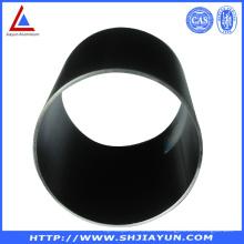 Tubes de fabrication en aluminium anodisé noir