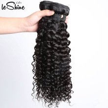 Diferentes tipos de cabello rizado de la armadura 9A Virgen Full Cuticle 3 Bundles brasileño