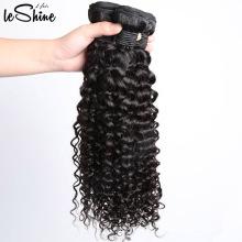 Différents types de cheveux bouclés grade 9A vierge pleine cuticule 3 faisceaux brésiliens