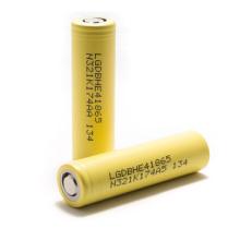 E-Cigarette Battery 3.7V 2500mAh Lghe4 18650 Bateria de lítio 20A Descarga